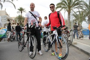 Half IronMan Arenales 2013 - 4h40' - kike and me