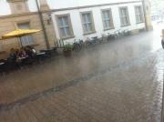 Raining in Erlangen